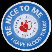 Blood Sticker