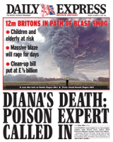 Express Front Cover 12th Dec 2005