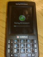 M600 Sony Ericsson Startup