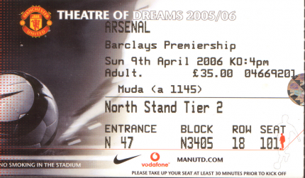 Man Utd Ticket