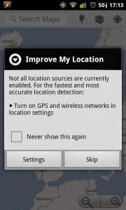 Improve My Location